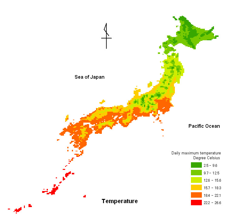 Geography Of Japan Lessons Tes Teach - Japan map 6